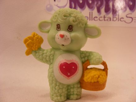 VINTAGE GENTLE HEART LAMB CARE BEARS COUSIN MINIATURE